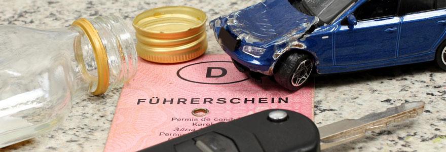 retrait du permis de conduire
